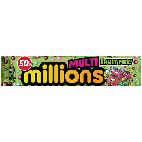 Millions Multi Fruit Mix 35g Packet